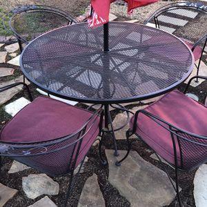 Metal Set Patio Furniture for Sale in Rowlett, TX
