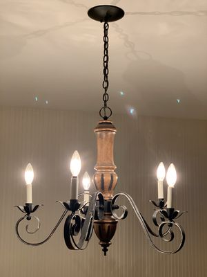 Vintage Farmhouse Chandelier for Sale in Kirkland, WA