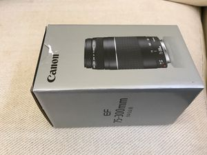 Canon 75-300mm lens for Sale in McLean, VA