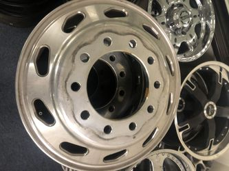 Semi Truck or Ford/Dodge/Chevy Dually Chrome Wheels for Sale in Anaheim,  CA