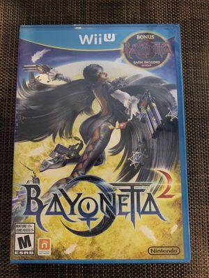Nintendo Wii U Bayonetta 1 & 2 NEW for Sale in Los Angeles, CA
