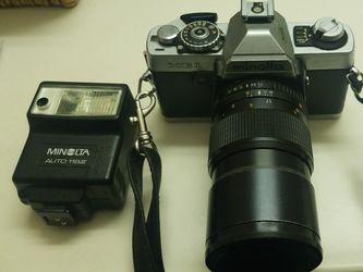 Minolta XG1 135mm Lense w/ Flash for Sale in Boise,  ID