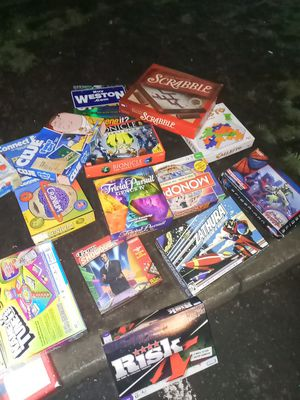 "Board Games "" Single or All"" Make offer for Sale in Beaverton, OR"