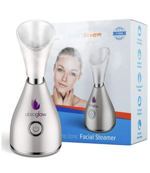 3-in-1 Patented Original Large Nano Ionic Facial Steamer - 30 Min Steam, Humidifier, Time Unclogs Pores Blackheads for Sale in Garland, TX