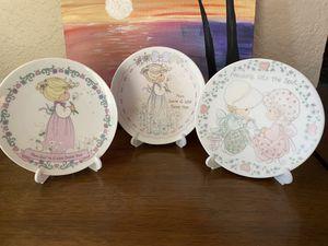 Precious Moments plates (3) for Sale in Oakley, CA