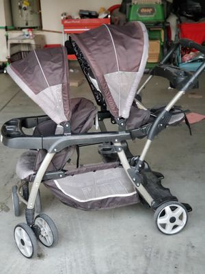 Double stroller for Sale in Tracy, CA