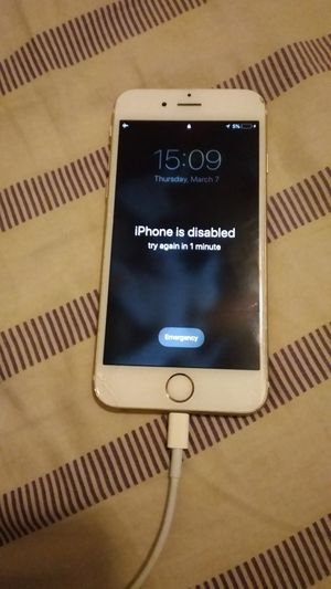 IPhone 6s Locked for parts for Sale in Chandler, AZ
