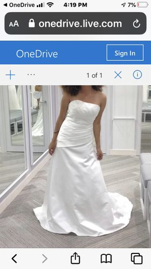 Wedding Dress for Sale in Atwater, CA