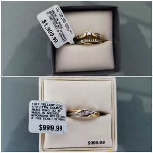 His and Hers Wedding Ring Set for Sale in Miramar, FL