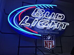 Bud Light Official Beer Sponsor NFL logo neon for Sale in Garden Grove, CA
