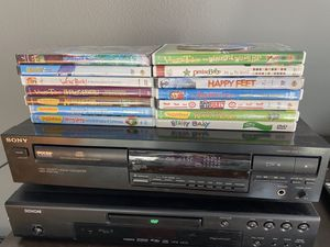 DVD Player w/ kids movies for Sale in Plano, TX