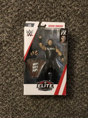 WWE Mattel Elite Series #66 Kevin Owens Chase Action Figure Brand New for Sale in Fresno, CA