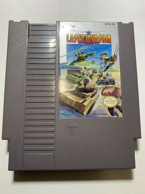 Laser Invasion (Nintendo Entertainment System, 1991). A1 for Sale in Phoenix, AZ