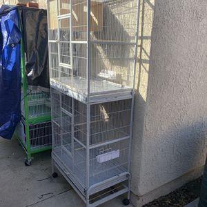 Double Bird Cage for Sale in Cerritos, CA