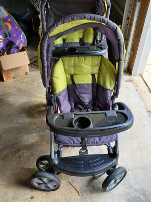 Baby trend double sit and stand stroller for Sale in Dallas, GA