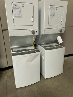 "New Discounted 24"" Stack Washer Dryer Set 1yr Manufacturers Warranty for Sale in Gilbert, AZ"
