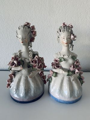 """Outstanding Vintage Cordey Large Women Busts Figurine 10"""" Perfect Condition for Sale in Los Angeles, CA"""