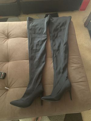 Fashion nova thigh high boots size 8.5 for Sale in Denver, CO