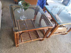 Tropical sofa n tables ESTATE SALE SUNDAY for Sale in Huntington Beach, CA