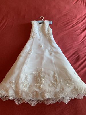 Beautiful Flower Girl Dress sz 7 for Sale in Hollis, NH