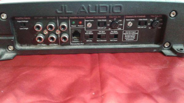 JL Audio 500 Watt car amp