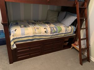 Twin Bunk Beds with Mattresses for Sale in Spartanburg, SC