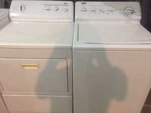 Washer and electric dryer for Sale in Cleveland, OH