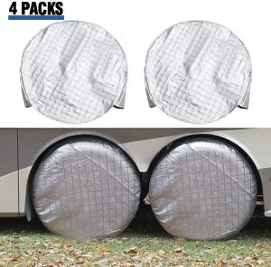 Tire covers for RV / Toyhauler / Travel Trailer for Sale in Temecula, CA