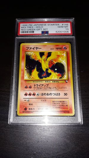 Pokemon Moltres Japanese Quick Starter Gift Set PSA10 GEM MINT for Sale in Queens, NY