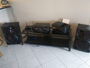 Dj stereo system for Sale in Tampa, FL