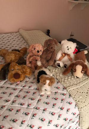 6 stuffed animals for Sale in Fairfax, VA