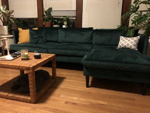 Gorgeous Green Couch for Sale in Seattle, WA