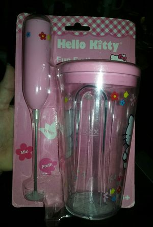 HELLO KITTY FUN FROTHER & TUMBLER for Sale in Los Angeles, CA