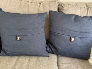 Navy blue pillows for Sale in Bell Gardens, CA