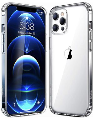 Mkeke Compatible with iPhone 12 Case, iPhone 12 Pro Case Clear 6.1 Inch 2020 for Sale in Lakewood, CA