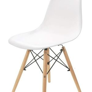 Nordic Style Chair Solid Wood (White) for Sale in Gardena, CA