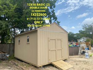 Sheds for Sale in Houston, TX