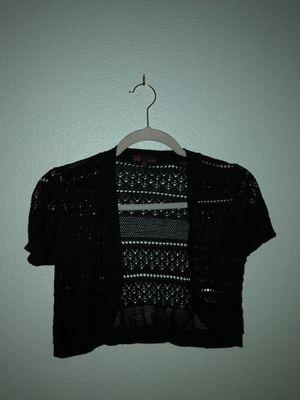 Short black cardigan for Sale in Las Vegas, NV