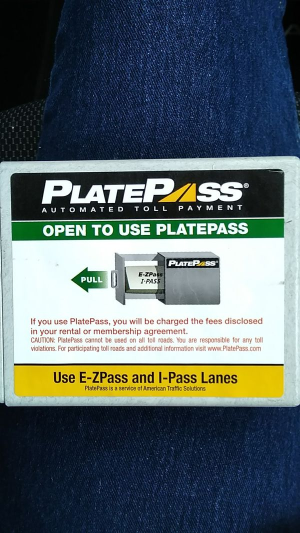 E-Zpass and I-pass Automatic Toll Payment