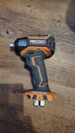 ridgid impact genx5 brushless drill for Sale in Lexington, NC