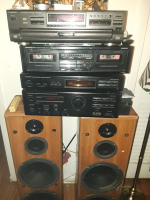 Onkyo Wood speakers for Sale in Atlanta, GA
