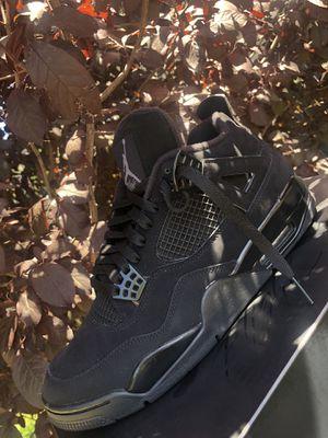 "Jordan 4 ""black cat"" for Sale in Patterson, CA"