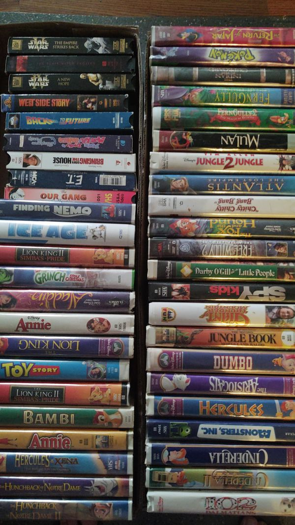 VHS Movies - Huge Collection