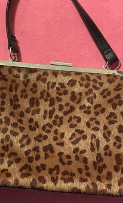 Unique Sourpuss Faux Leopard Fur Vegan Purse for Sale in Garden Grove,  CA