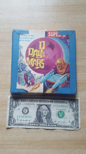 D day on Mars. Super 8 movie film. Republic pictures. for Sale in Akron, OH