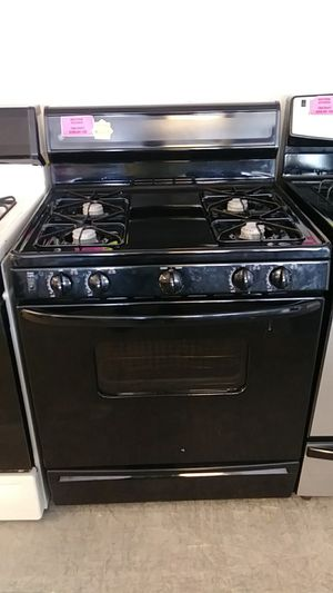 G. E. Black gas stove for Sale in Houston, TX