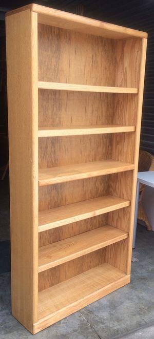 Oak Bookcase / Bookshelf / Storage Display Shelves for Sale in Farmington, MN
