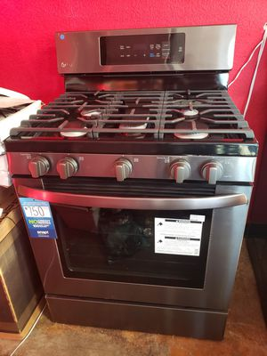 New LG Gas stove Convection Black stainless $39 for Sale in Los Angeles, CA