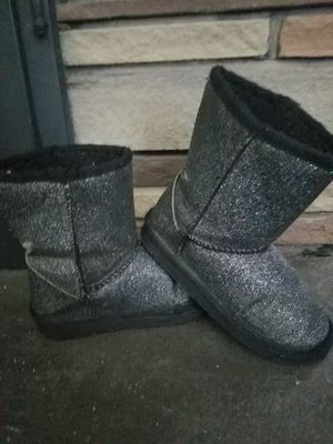 Girls size 10 glitter boots for Sale in Clarks Summit, PA
