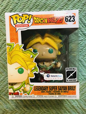 Legendary Super Saiyan Broly Funko Pop! for Sale in Miami, FL